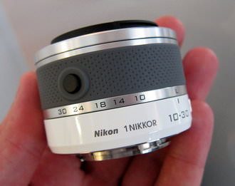 10-30mm lens retracted