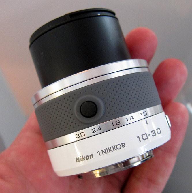 10-30mm lens extended
