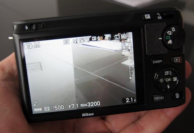 Rear of camera - Photo mode