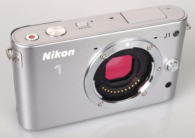 Nikon 1 J1 Silver