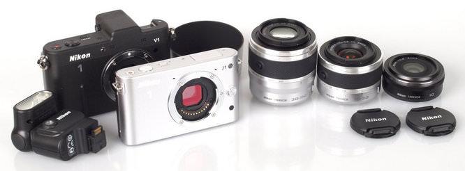 Nikon J1, V1, Lenses, Accessories