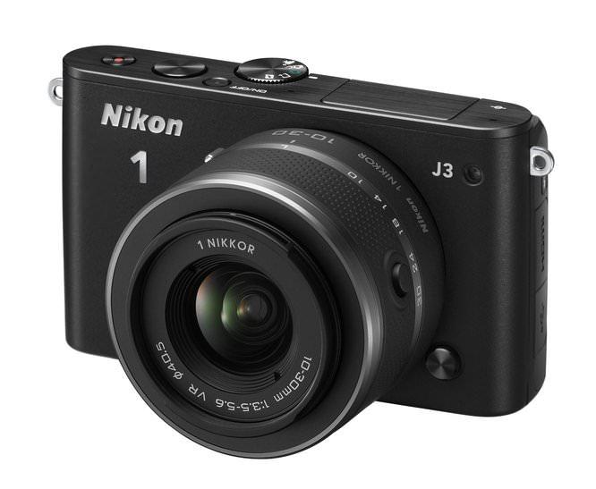 Nikon 1 J3 10 30 BK Frt34l