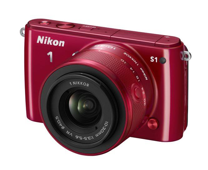 Nikon 1 S1 10 30 RD Frt34l
