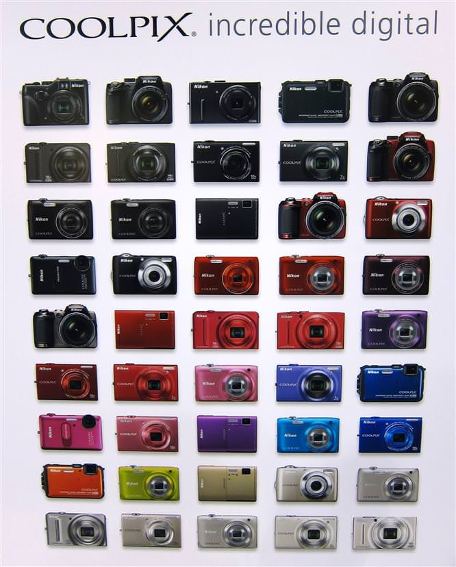 Nikon Coolpix Colours