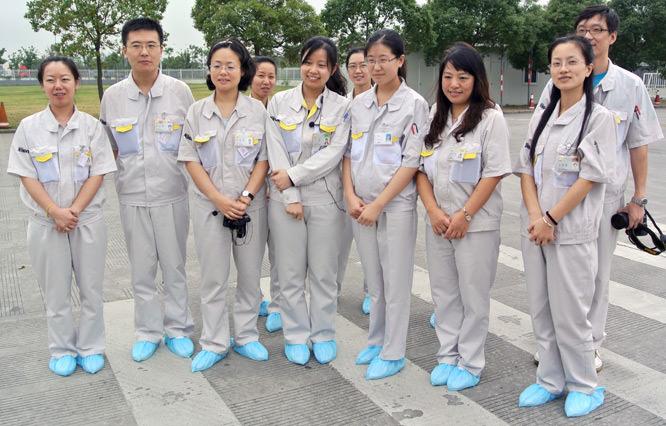 Nikon 1 Factory Workers