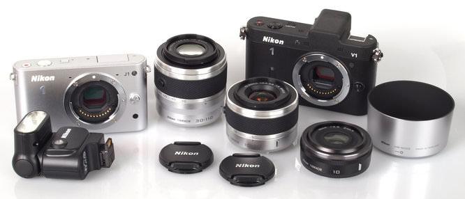 Nikon V1 J1 and Lenses