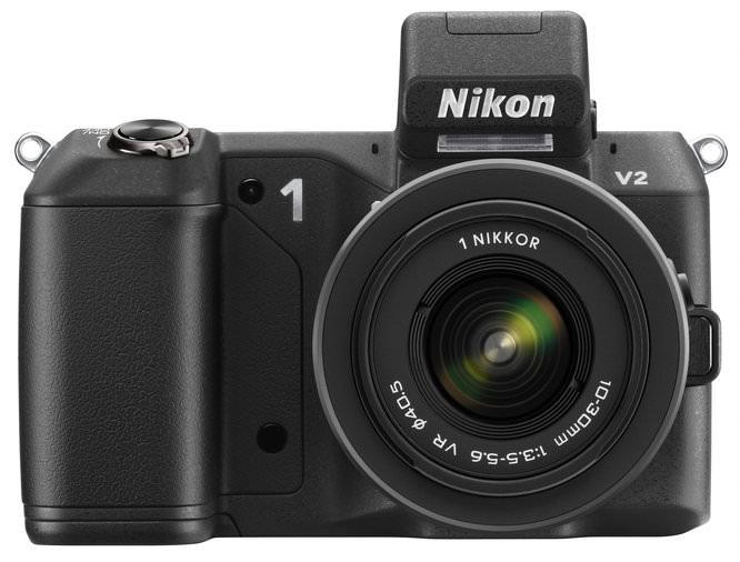 Nikon V2 10 30 BK Front