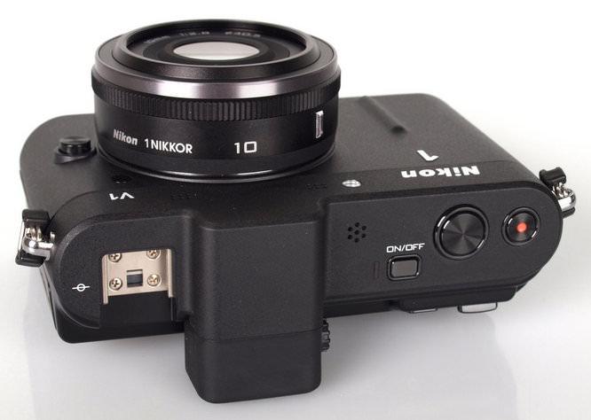 Nikon 1 V1 Top