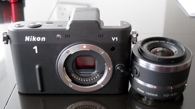 Front of V1 with lens off