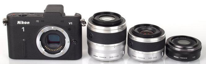 Nikon V1 and Lenses