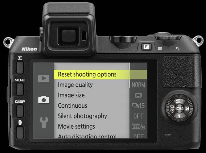 Nikon V2 BK LCD E