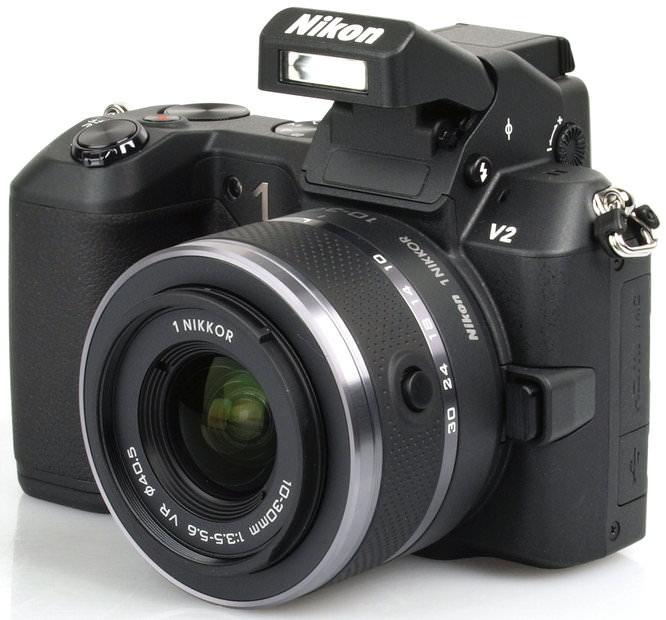 Nikon 1 V2 Front Angle