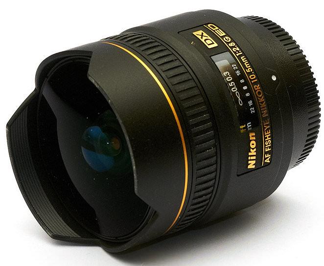 Nikon DX Fisheye 10.5mm f/2.8G