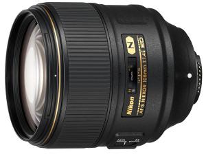 Nikon 105mm f/1.4E ED Portrait Lens