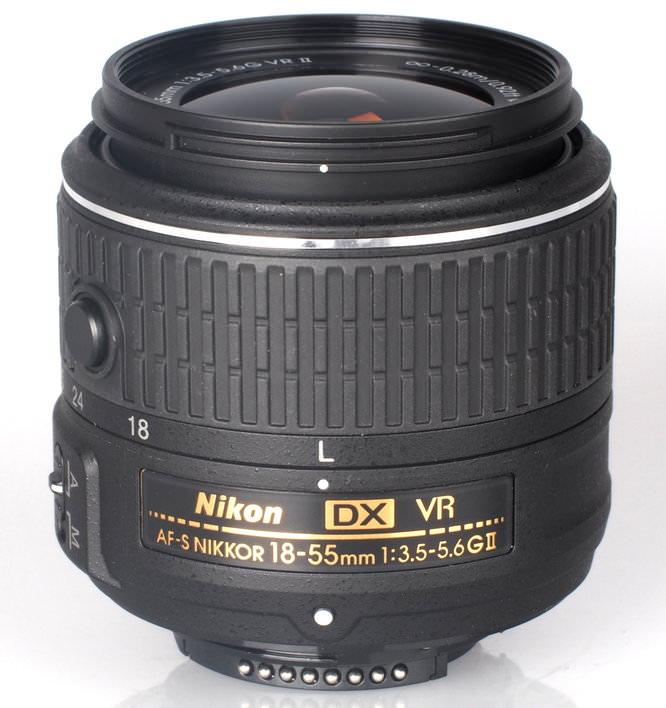 Nikon Nikkor 18 55mm VR II Lens (1)