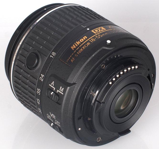 Nikon Nikkor 18 55mm VR II Lens (5)