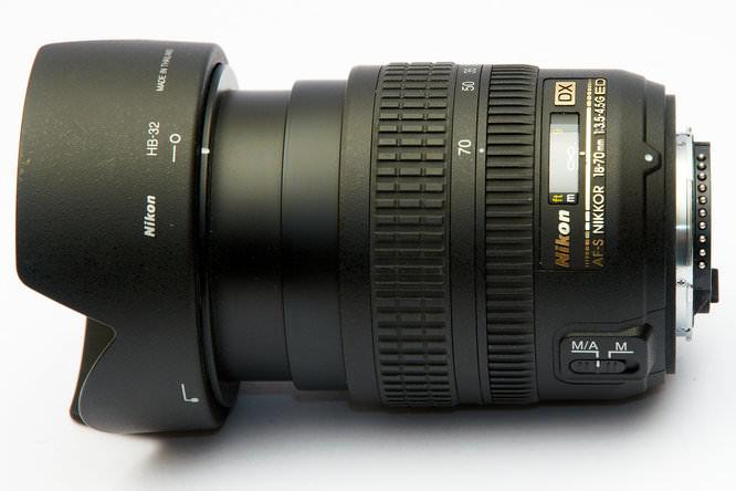 Nikon AF-S DX 18-70mm f/3.5-4.5G