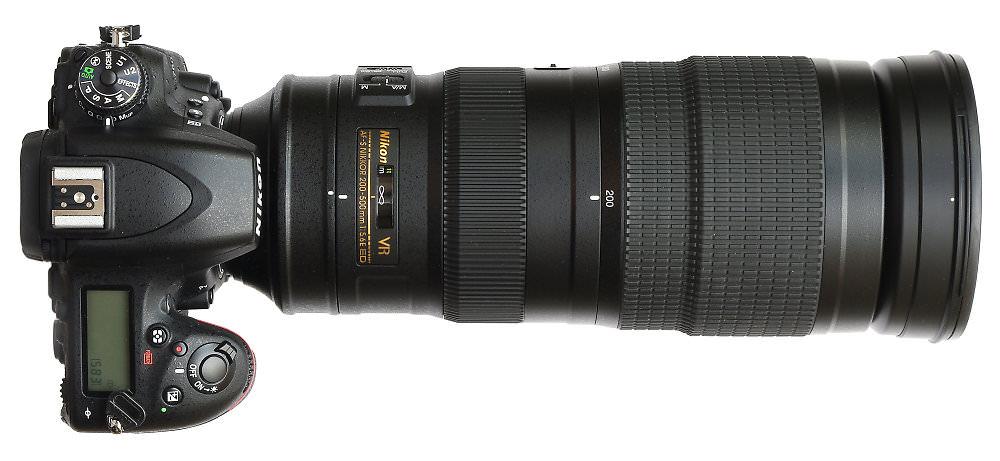 Nikon 200 500mm On D750
