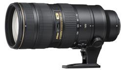 Nikon 70-200mm f/2.8 G ED VR II