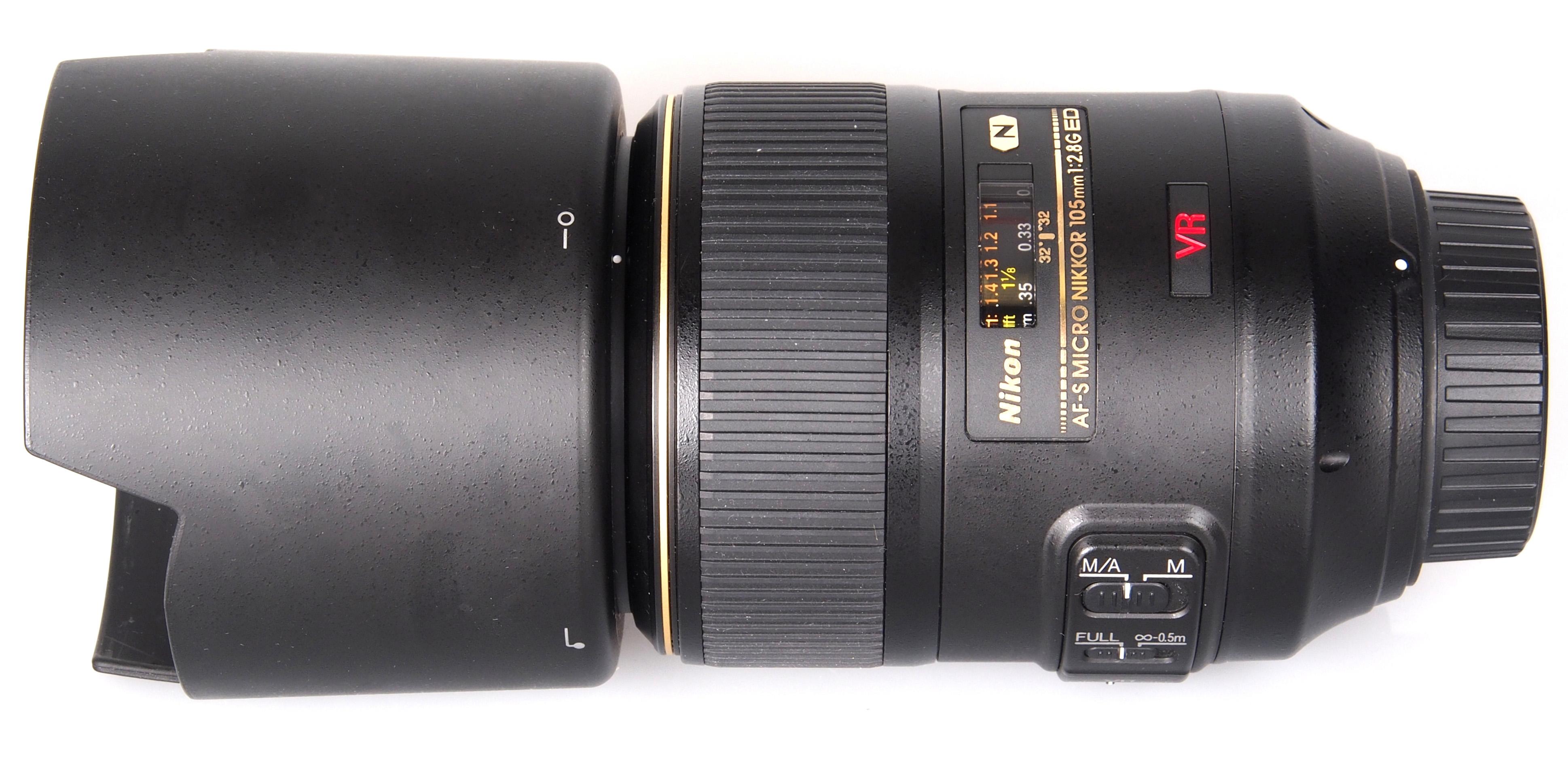 Nikon Af S 105mm F 2 8g Ed If Vr Micro Lens
