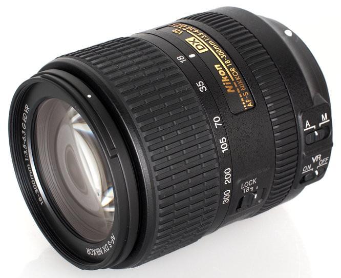 Nikon Nikkor AFS DX NIKKOR 18 300mm F3 5 6 3 G ED VR (5)