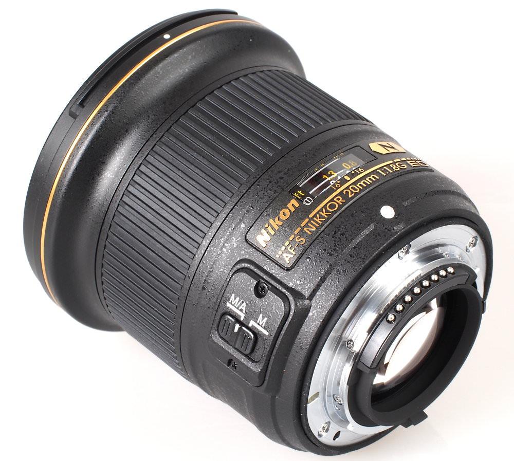 Nikon AF S NIKKOR 20mm 1 1 8G ED N Lens (5)