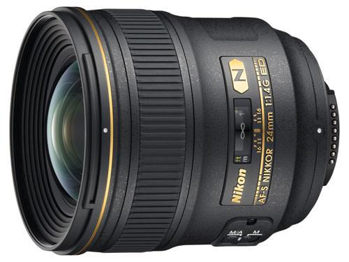 Nikon AF-S 24mm f/1.4 G ED lens