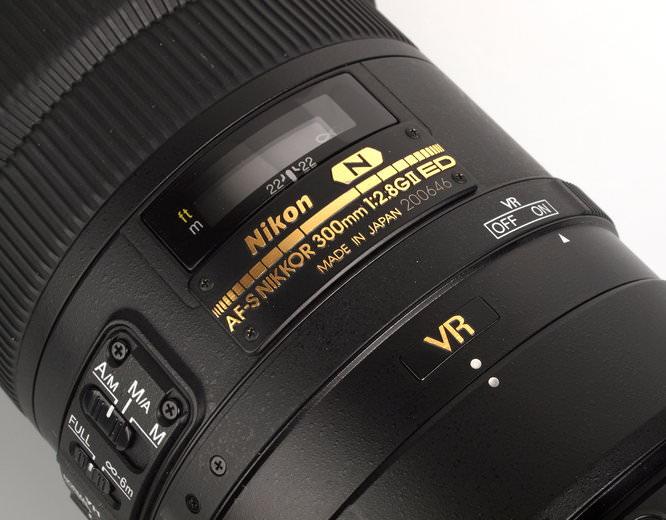 Nikon Nikkor AF-S 300mm f/2.8G ED VR II