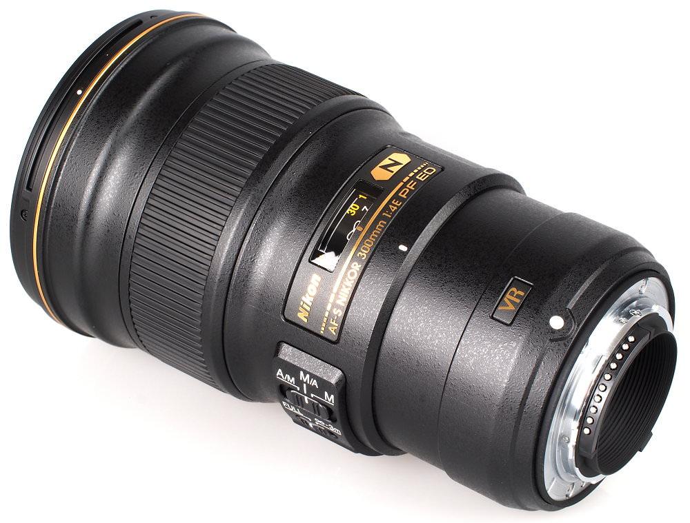 Nikon AF Nikkor 300mm S F4E PF ED lente (6)