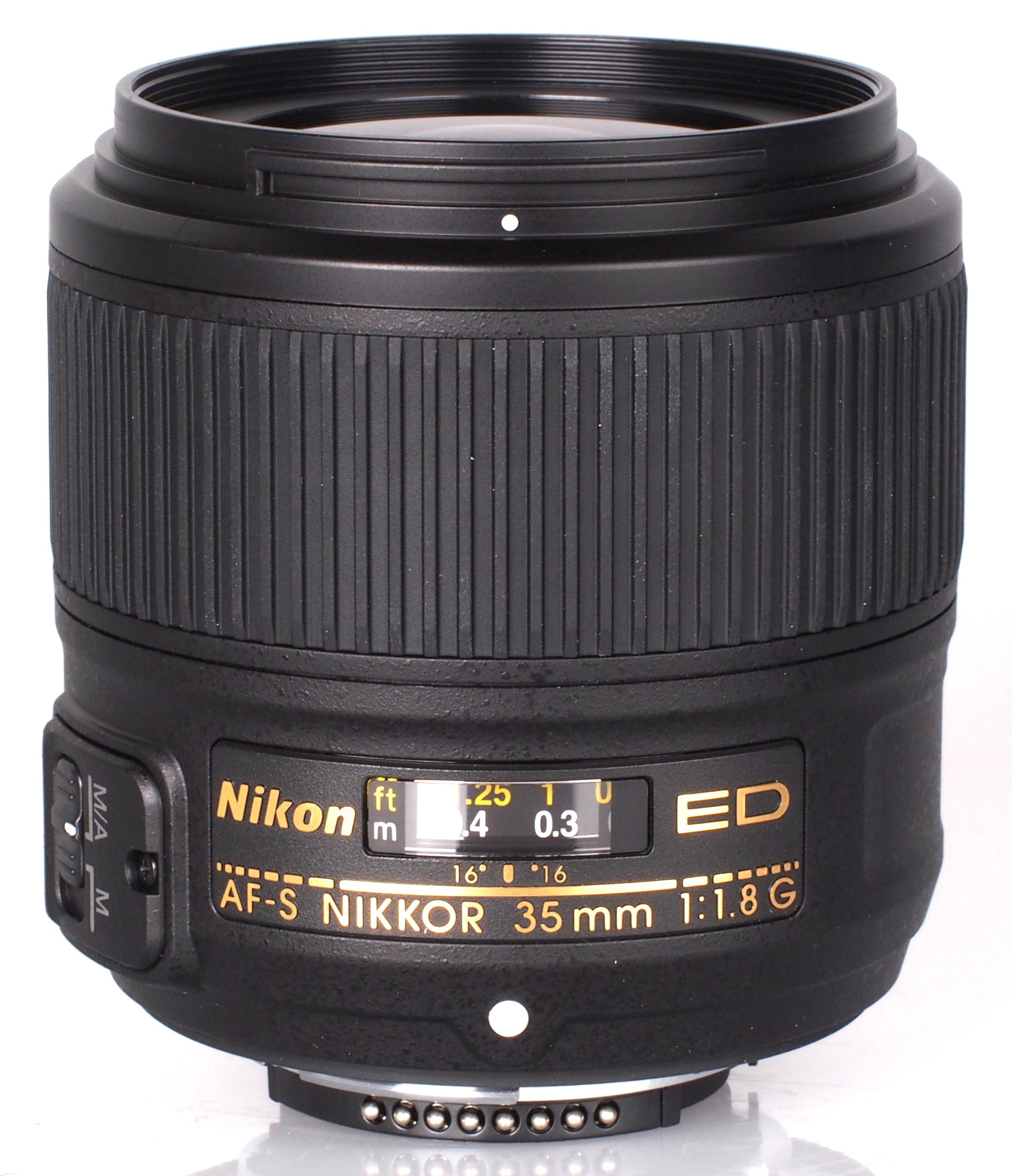 nikon af s nikkor 35mm f 1 8g lens review