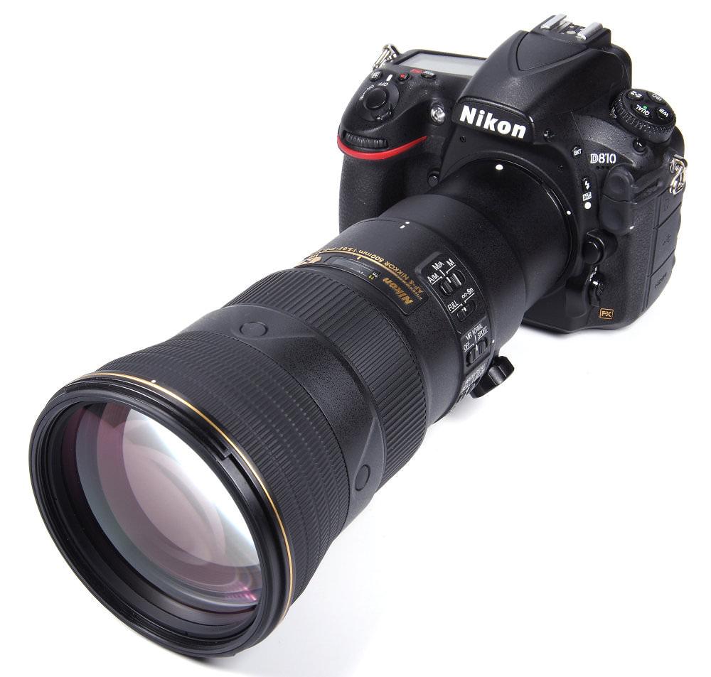 Nikon 500mm F5,6E On Nikon D810