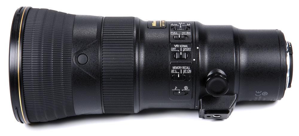 Nikon 500mm F5,6E Side View