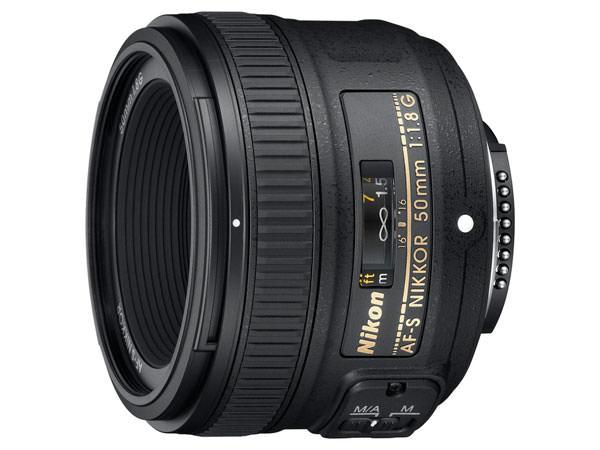 New Nikon AF-S Nikkor 50mm f/1.8G Lens