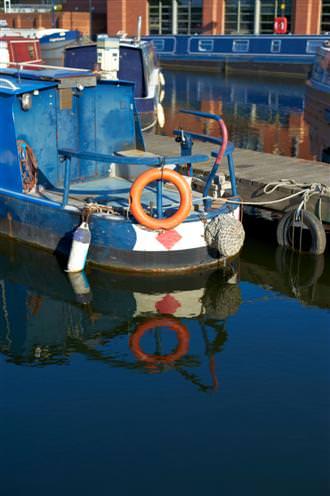 Nikon 50mm Lens Boats