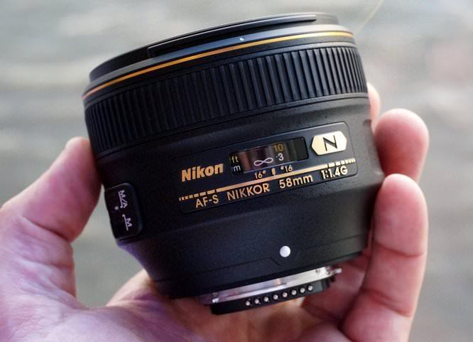 Nikon AF S Nikkor 58mm F1 4 (11) (Custom)