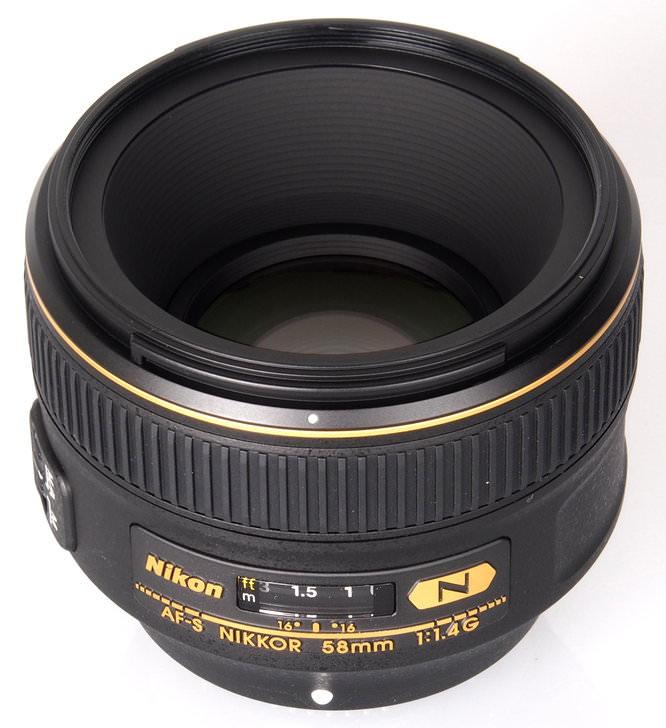 Nikon Nikkor AF S 58mm F1 4G (4)