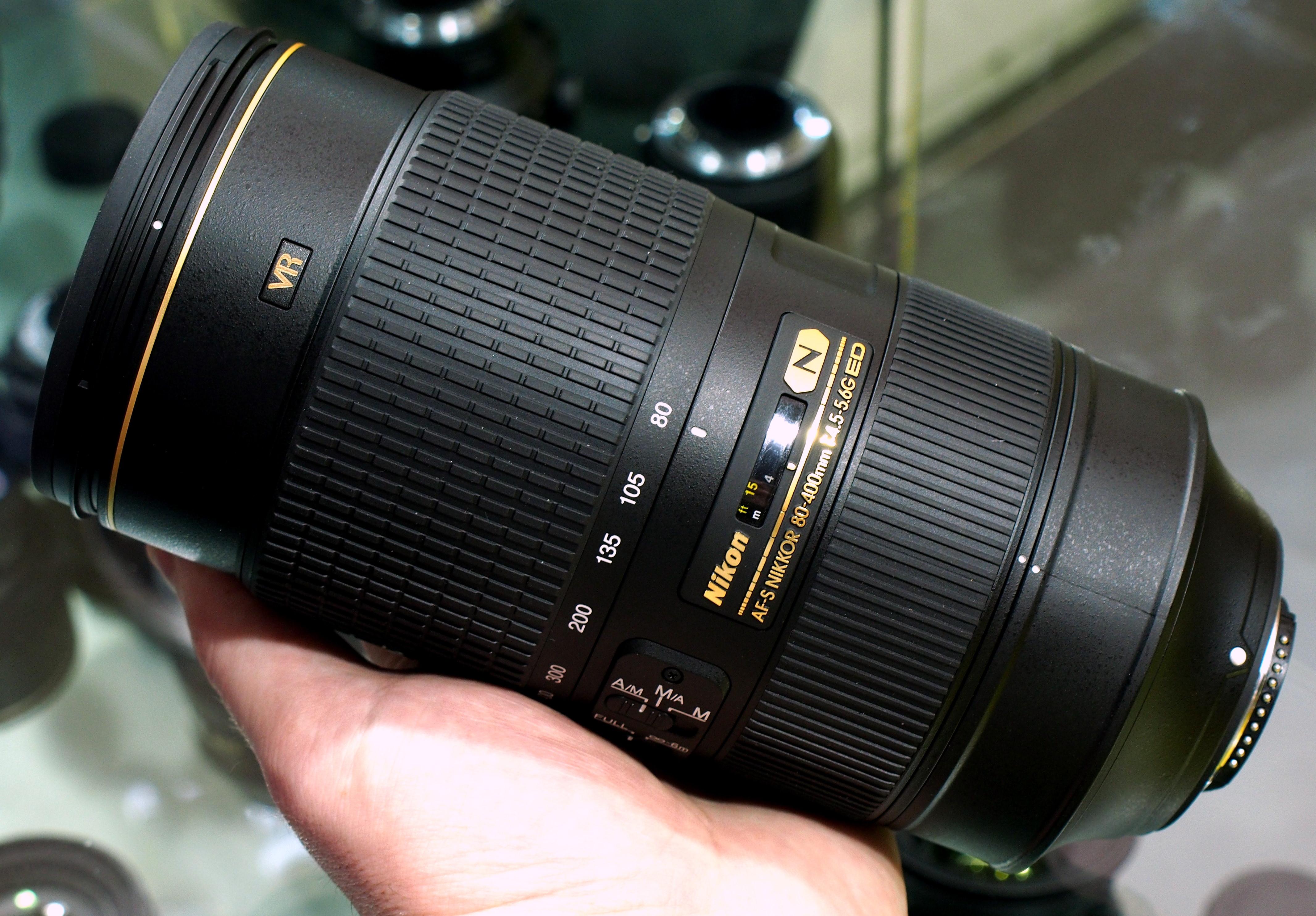 Nikon AF-S Nikkor 80-400mm Hands-On Preview