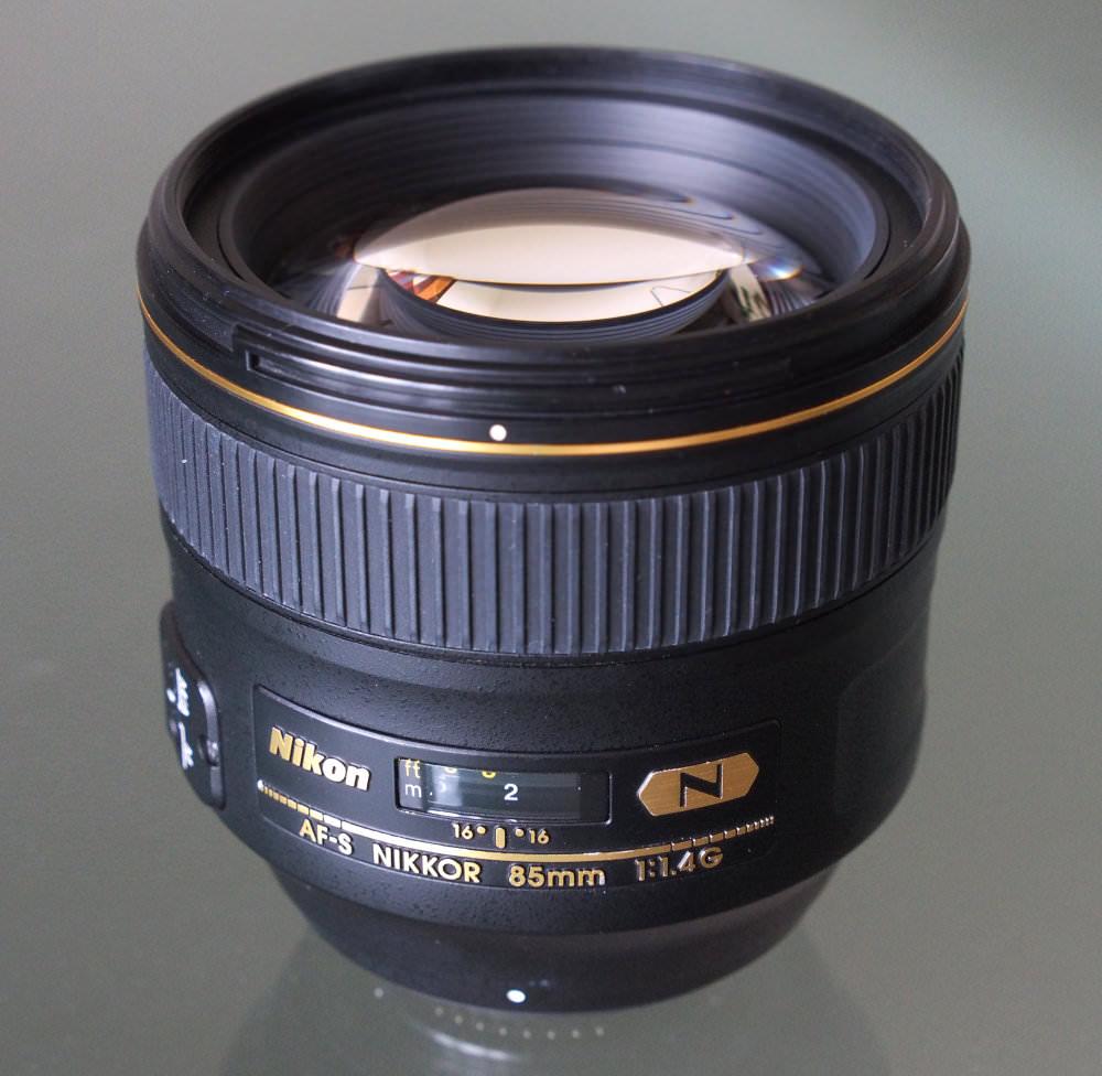 Nikon Nikkor 85mm F1 4G Lens (1)