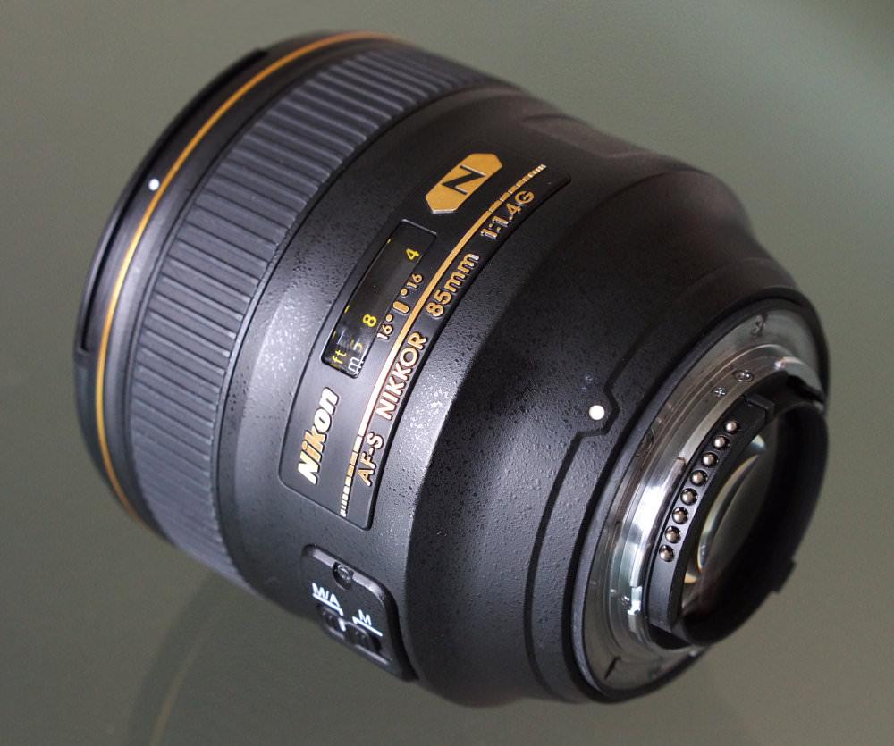 Nikon Nikkor 85mm F1 4G Lens (6)