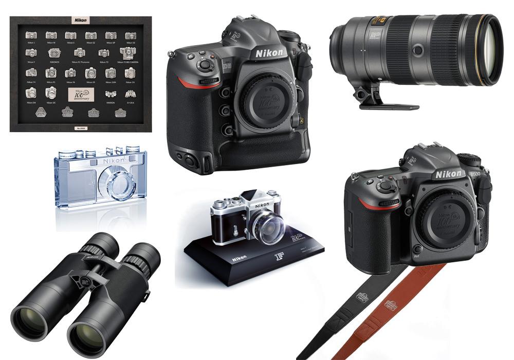Nikon 100th anniversary goods
