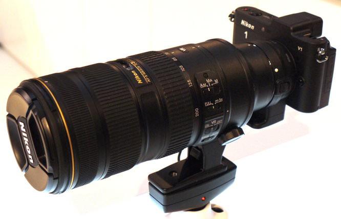 Nikon V1 Nikkor Lens