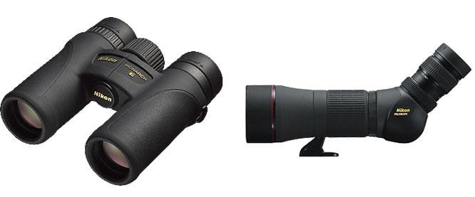 Nikon binoculars and spotting scopes