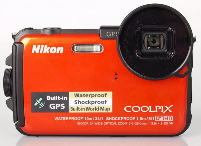 Nikon Coolpix AW100 Front