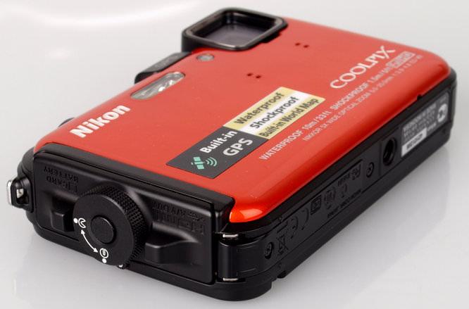 Nikon Coolpix AW100 Battery Lock