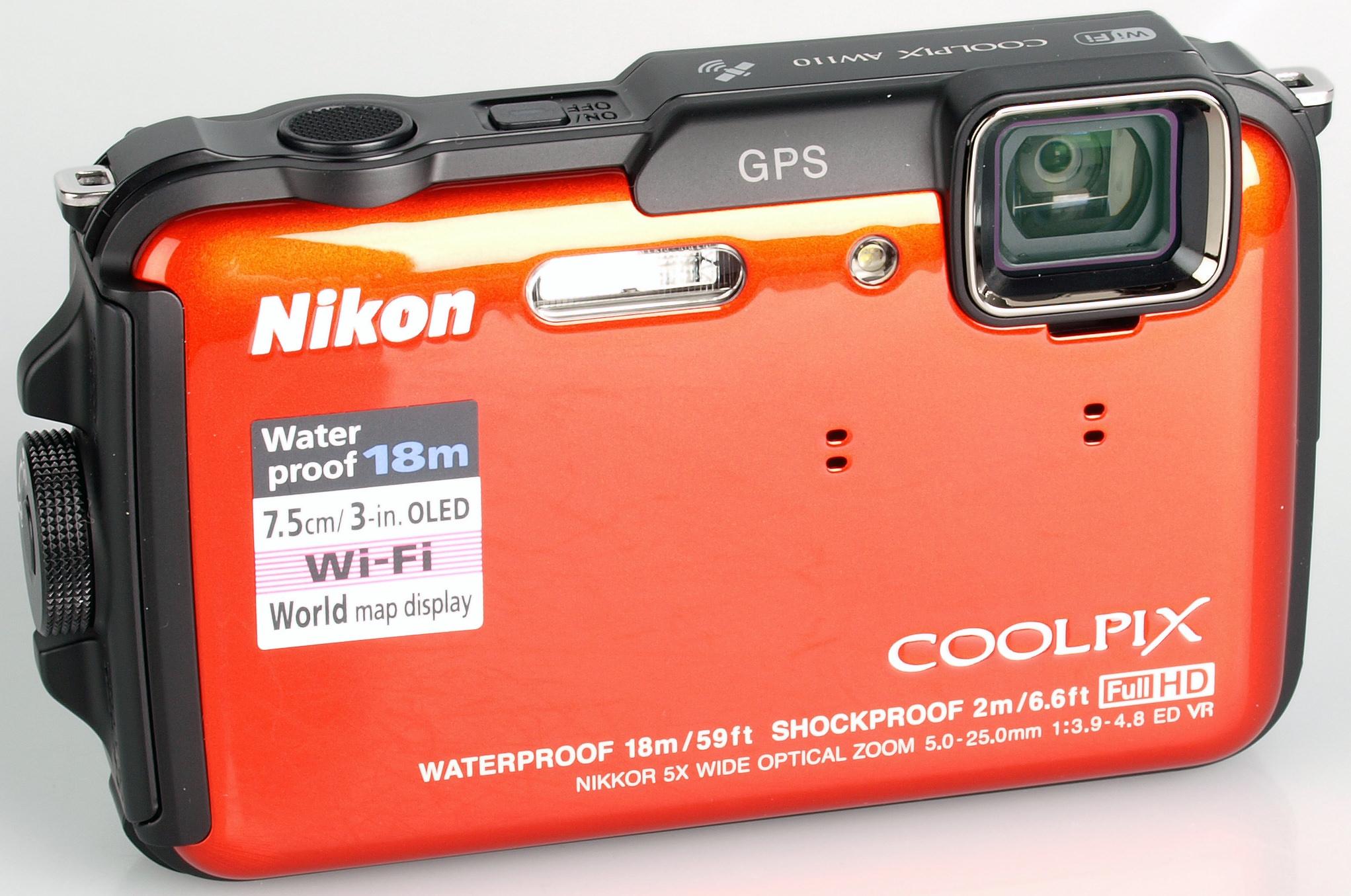 Nikon COOLPIX AW110 Camera Windows 8