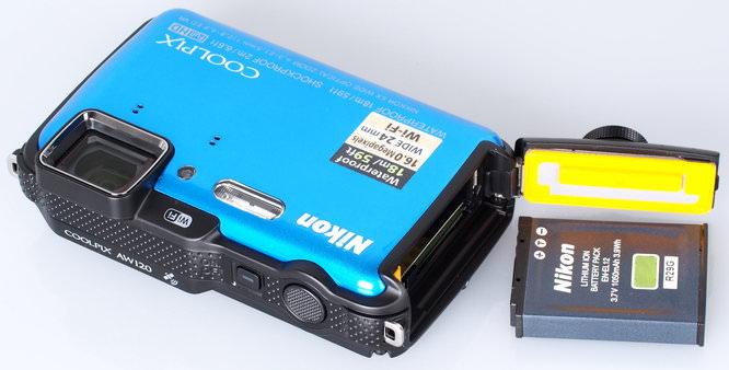 Nikon Coolpix AW120 Blue (7)