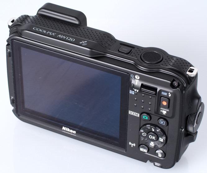 Nikon Coolpix AW120 Blue (8)