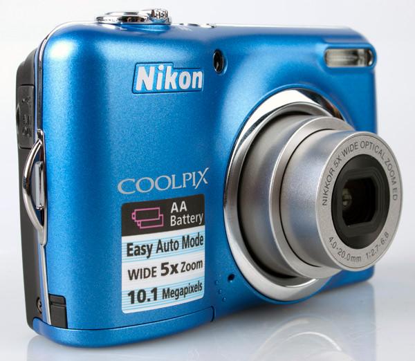 Nikon Coolpix L23 front lens