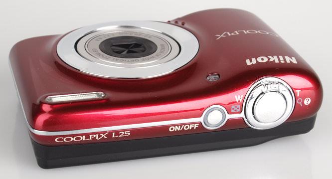Nikon Coolpix L25 Red (4)