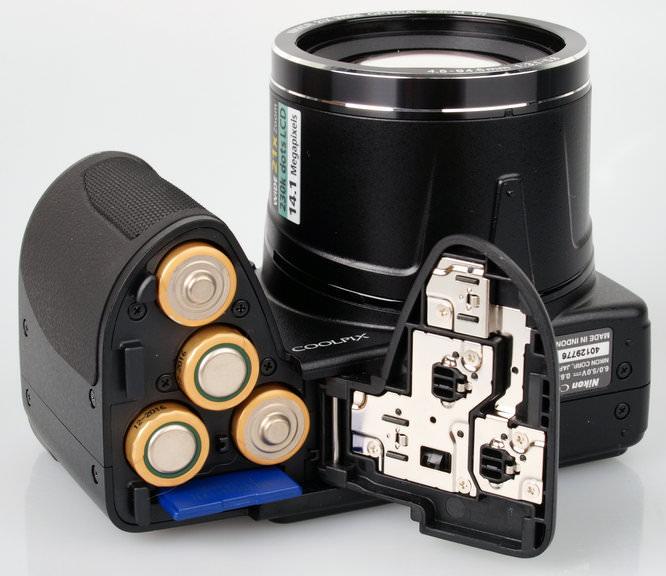 Nikon Coolpix L310 Batteries And Memory Card